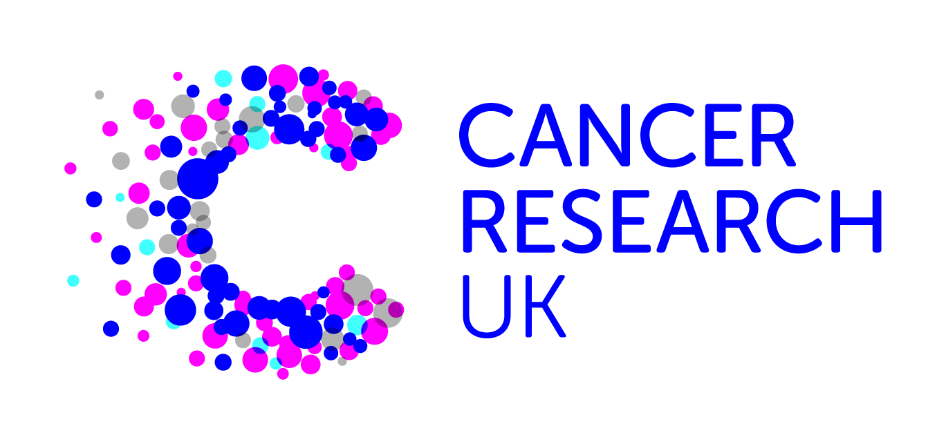 Image shows the corporate logo of Cancer Research UK
