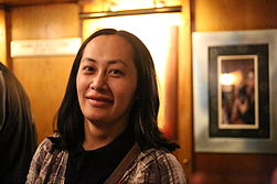 Katie Chan at the 63rd London Wikimedia Meetup