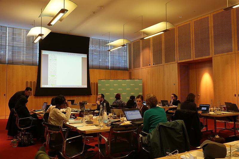 File:Wellcome Library editathon Wednesday 26th February 2014 2.JPG