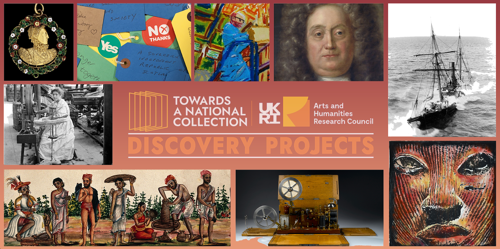 Towards a National Collection banner
